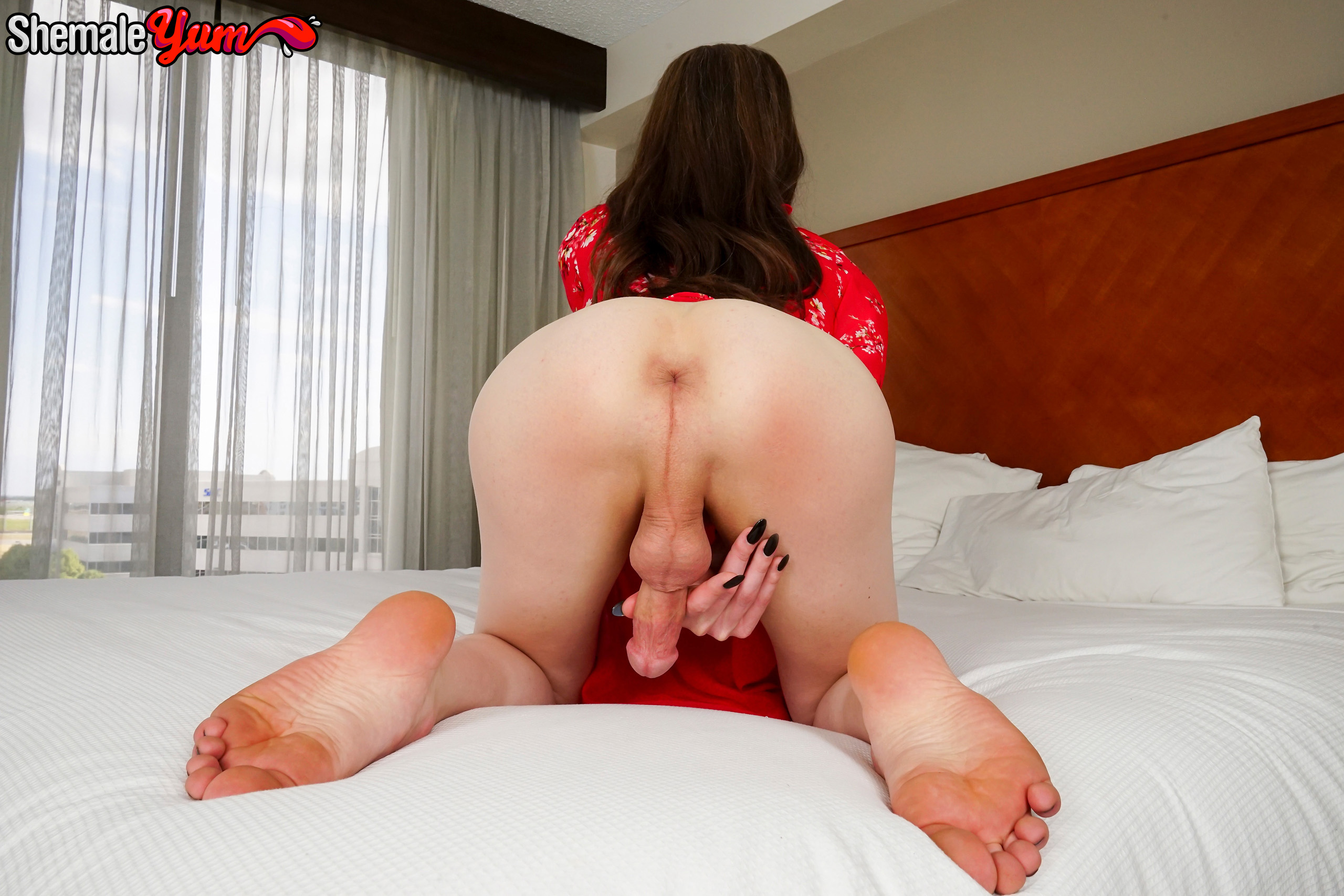 Shemale and girl porn